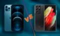 Apple iPhone 12 Pro Max vs Samsung Galaxy S21 Ultra 5G