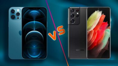 iPhone 12 Pro Max vs Galaxy S21 Ultra 5G